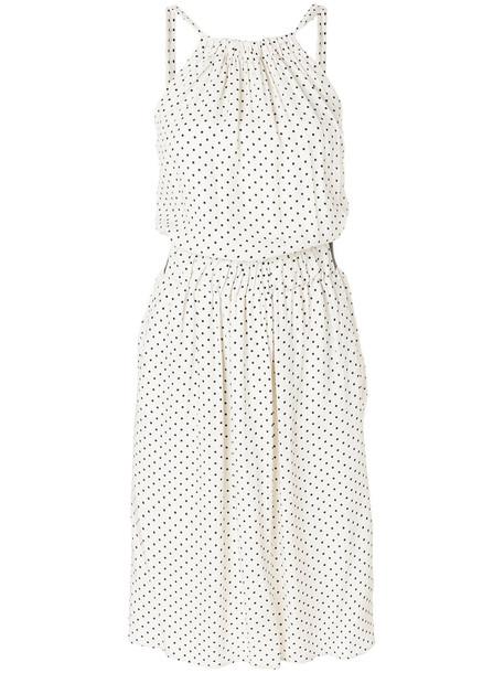 Twin-Set dress midi dress women midi white