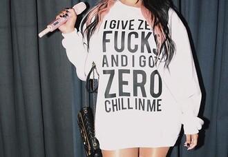 sweater sweatshirt nicki minaj