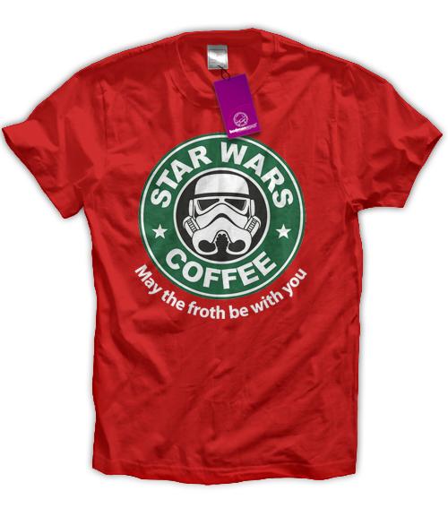"""""""stromtrooper"""" coffee shop kaffee t"""