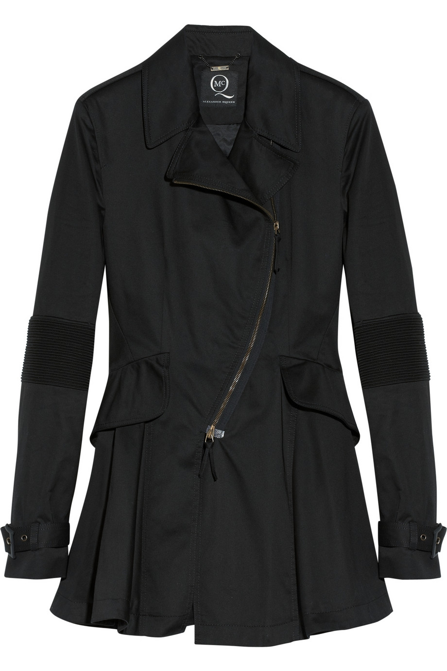 Hybrid cotton-twill trench coat | THE OUTNET