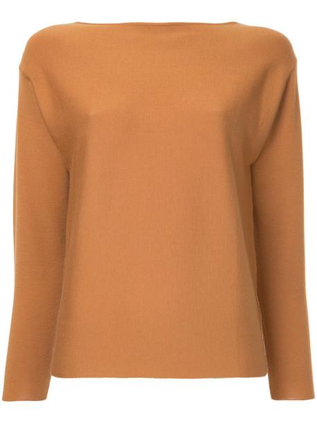 Des Pres jumper women wool brown sweater