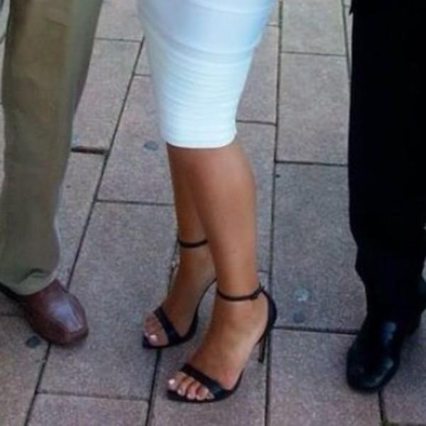 shoes black heels classy heels ankle strap heels