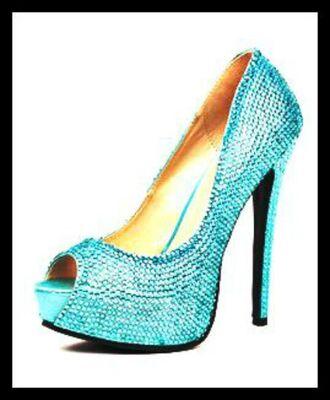 shoes boutique light blue high heels platform shoes fashion sexy