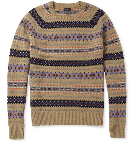 J.Crew Fair Isle Wool Sweater | MR PORTER