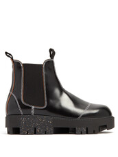 chelsea boots,leather,black,shoes