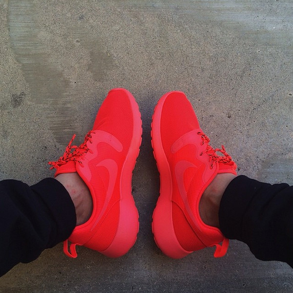 b5b7e67c1920 shoes nike nike shoes sportswear cool nike roshe run red nike shoes red  roshe bright red.
