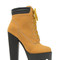 Tread ruggedly faux nubuck booties - gojane.com
