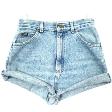 Original 320 Rolled Shorts - Arad Denim