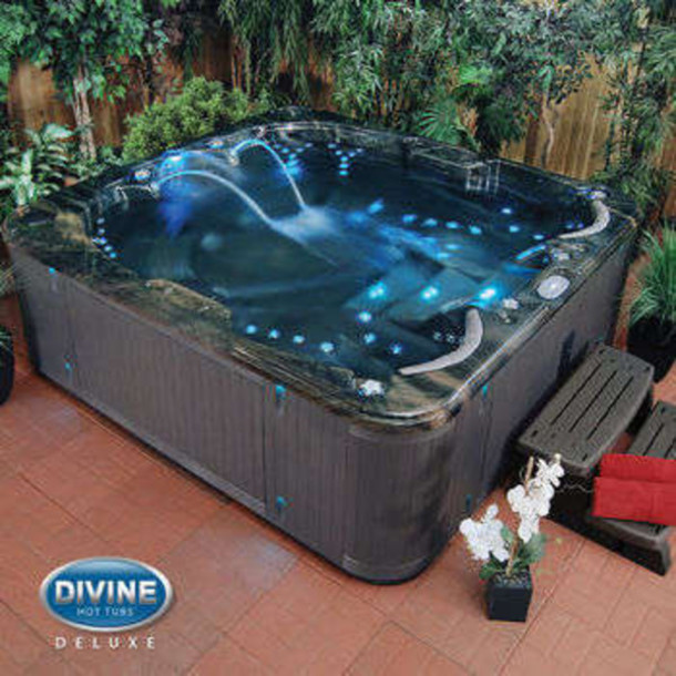 Home Accessory Waterfall Hottub Waterfall Pool With