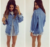 coat,romper,jeanjacket,jeans,blue,grey,white,grey romper,shorts,shirt,jacket,denim jacket,denim,peppermayo