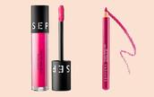 make-up,lips,lipstick,lip liner,pink,pink lips,pink lipstick,matte lipstick,sephora