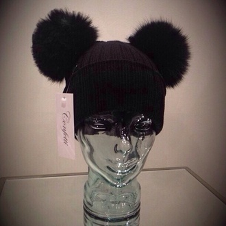hat beanie cute black hat designers designer cute hats beyonce