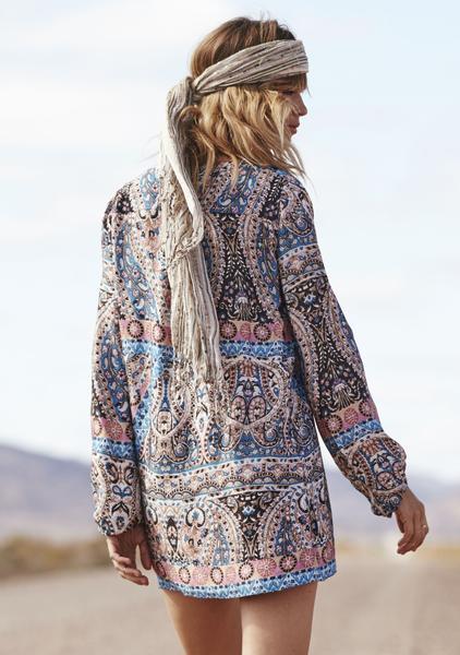 640214249b Vagabond Gypset Shift Dress in Nirvana by Auguste