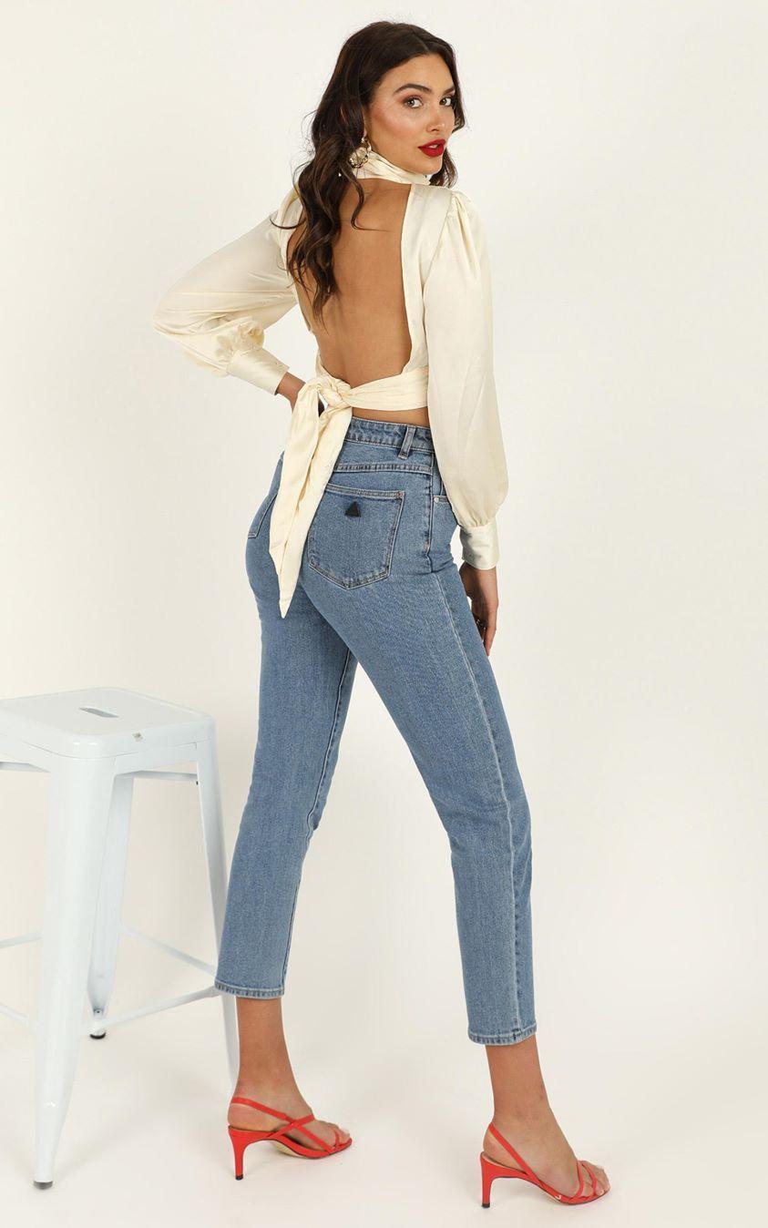 Showpo Abrand - A '94 High Slim Jeans in georgia - 10 (M) Cropped