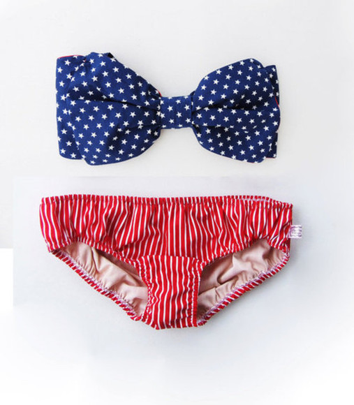 swimwear swim american flag america patriotic usa bathing suit
