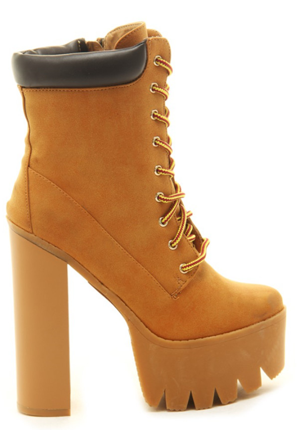 lace up lace up boots camel boots timberland style heels camel boots lug sole lug boots camel jeffrey campbell