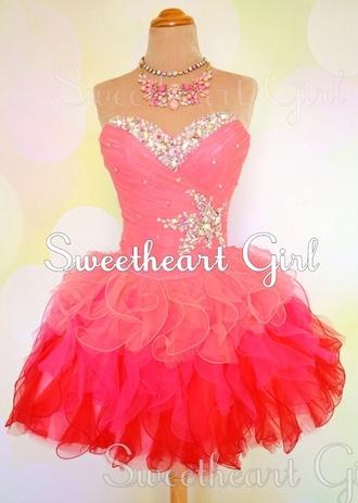 prom cocktail cocktail dress jessann pink dress light pink light pink dress dark pink dress dark pink prom dress