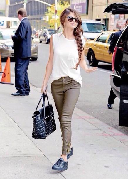 shirt selena gomez shirt jeans