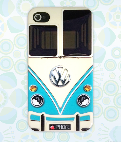 VW Busje 70's Case iPhone 4 / 4s |Retrocases.nl