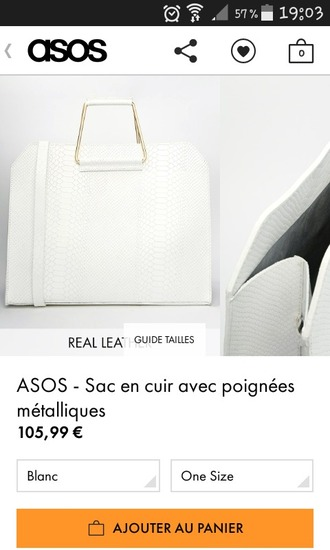 bag white bag metalic purse handbag classy beautiful bags crocodile