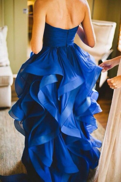 blue dress blue prom dress blue dress dress flowy dress wedding dress long blue prom dresses