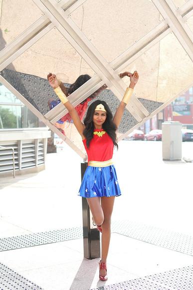 cartoon blogger marvel tuolomee super hero halloween costume