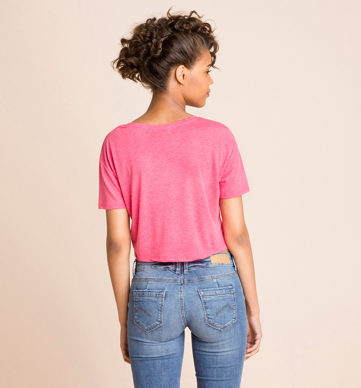 Mujer Camiseta en fucsia / fucsia – los mejores precios en C&A