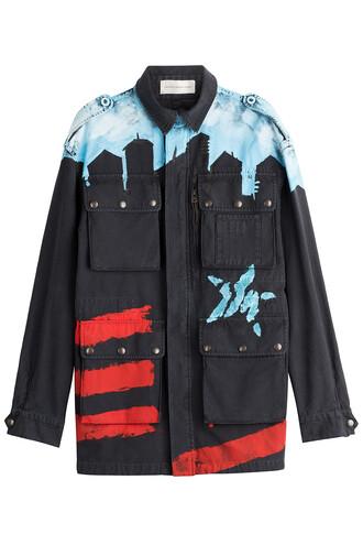 jacket cotton multicolor