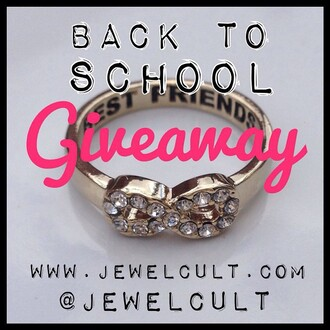 jewels jewel cult jewelry ring infinity best friends infinity ring infinity ring bff bff rings contest giveaway jewel cult contest instagram
