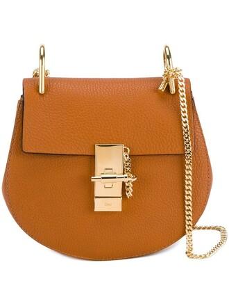 mini bag shoulder bag brown