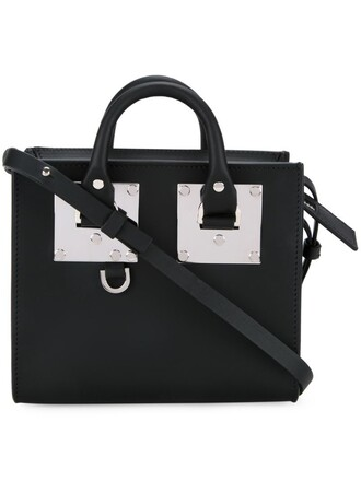 bag tote bag black