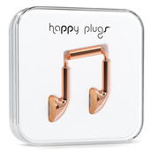 earphones,perfect,love,happy plugs,happy plug,rose gold,gold,ear plug,girl,gilry,girly,sweet