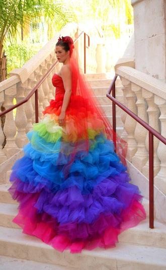 dress style rainbow