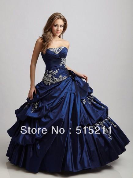 wedding dress blue dress blue wedding dress formal dress blue formal dress