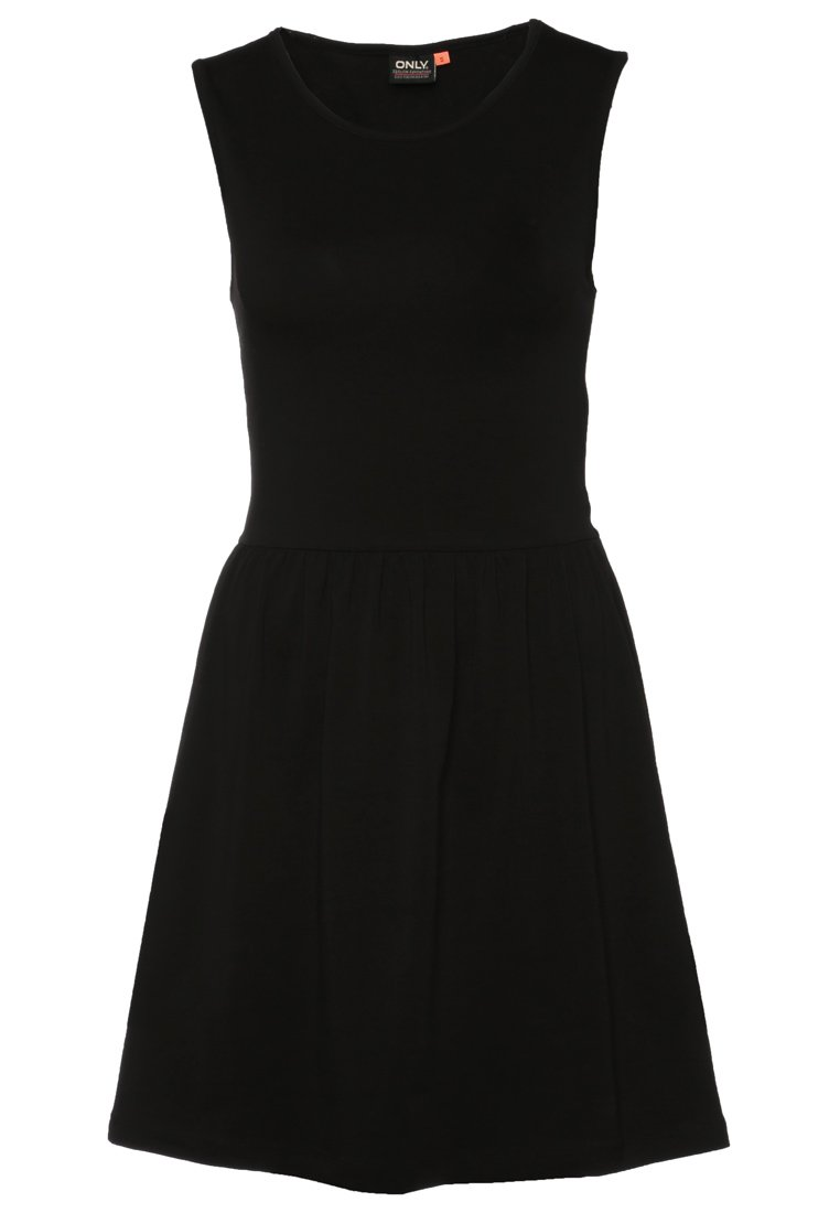 ONLY MIELLA - Jersey dress - black - Zalando.co.uk