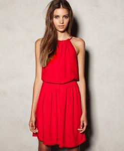 summer dress 2014 New women's Fashion temperament Diamond Pleated chiffon Sleeveless V-neck strap Slim irregular Dress | Amazing Shoes UK