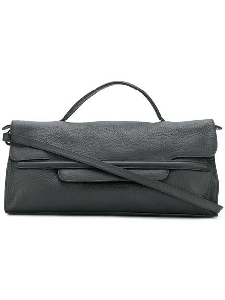 Zanellato - flap tote - women - Leather - One Size, Black, Leather