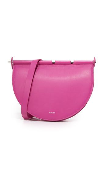 MUGLER cheeky handbag pink bag