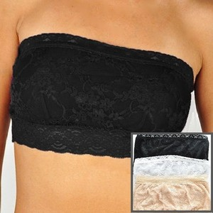 c1c7138fb4 New Lace Bandeau Strapless Bra Bralette Crop Tube Top Like Free ...