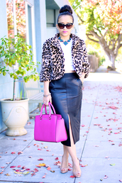 ktr style,t-shirt,coat,skirt,shoes,bag,jewels