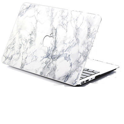 finest selection e9c0b 3a175 Marble Hard Shell Case Cover Laptop Shell Fr MacBook Pro 13 15 12 Retina  AIR11 | eBay