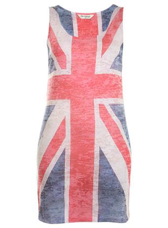 Union jack flag vest