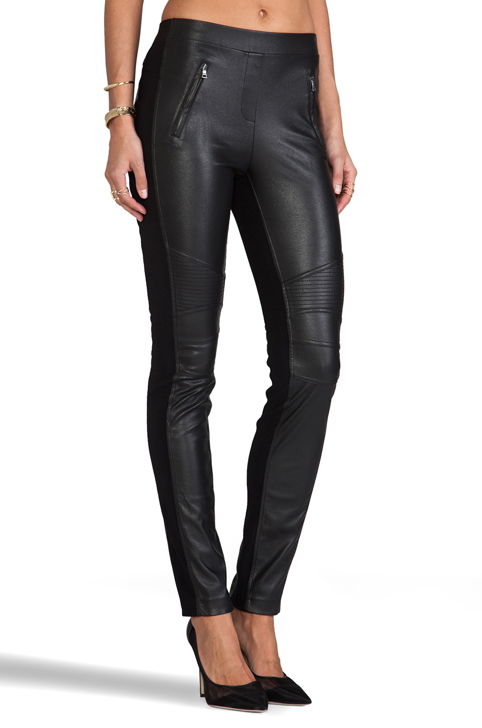 BCBGMAXAZRIA Pants in Black | REVOLVE