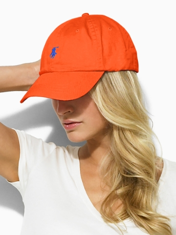 polo ralph lauren cotton chino baseball cap script