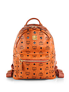 MCM - Studded Stark Backpack - Saks Fifth Avenue Mobile