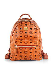 a4aecb9b898 MCM - Studded Stark Backpack - Saks Fifth Avenue Mobile