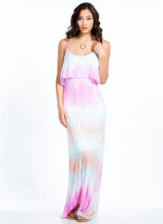 dress maxi dress maxi tie dye
