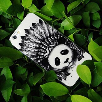 phone cover panda cute kawaii animal phone fashion style iphone cover iphone case accessories