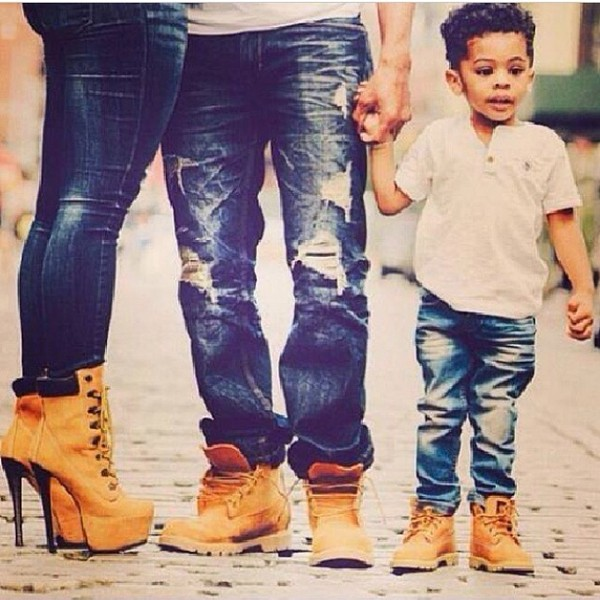 shoes boots family timberlands jeans ripped jeans high heel timberlands high heels