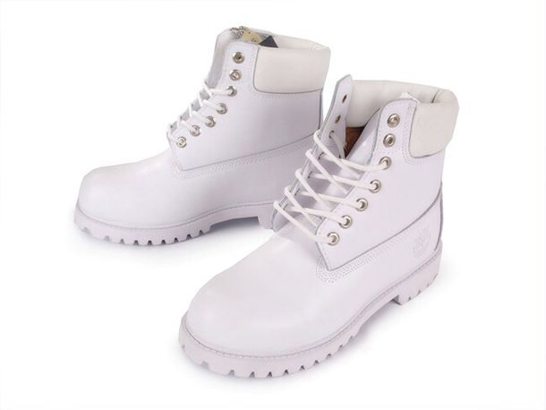 where can i find white timberland boots
